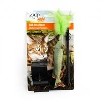 Allforpaws Doğal İçgüdü Balık Kedi Oyuncağı