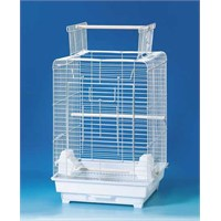 Qh Pet Cage Papağan Kafesi Siyah 40,5X40,5X59,5 (4)