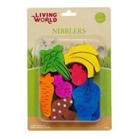 Living World Hamster İçin Meyve Şekilli Tahtalar 7 Çeşit X 2