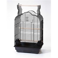 Qh Pet Cage Papağan Kafesi Karışık Renkli (46.5 X 36 X 70)
