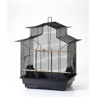 Qh Pet Cage Kafes Papağan Çin Çatılı Prinç 47X36x62 (4)