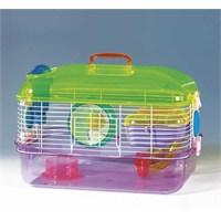 Qh Pet Cage Hamster Kafesi Aksesuarlı 40X26x27 (6)