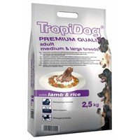Tropidog 57055 Premium Adult Medium - Large Breed Lamb&Rıce 2,5 Kg