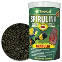 Tropical 60536 Super Spirulina Forte Granulat 1000 Ml