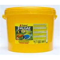 Tropical 3 - Algae Flakes Balık Yemi 11 Litre
