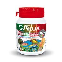 Art Akua Premium Mix Büyütme Duo 50Gr Etçil Ve Otçul Karışık Akvaryum İçin.