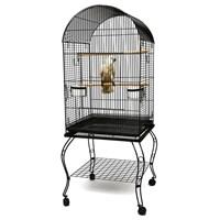 P922 Sıl Ayaklı Papağan Kafesi Gri