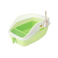 Açık Büyük Kedi Tuvaleti Fıstık Yeşili