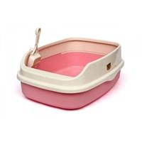Cl5 Açık Lux Kedi Tuvaleti Xl Pembe