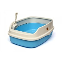 Cl5 Açık Lux Kedi Tuvaleti Xl Gök Mavisi