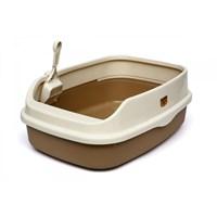 Açık Lux Kedi Tuvaleti Xl Kahve