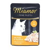 Miamor Ff Pouch Kedi Tavuk-Ton Balıklı Konserve 100 Gr