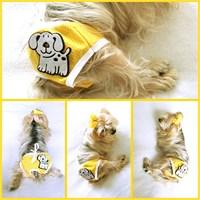 Kemique Köpek İç Çamaşırı - Yellow Dog - Regl Külot