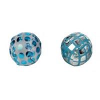Nobby Çıngıraklı Küçük Kedi Topu 4Cm Mavi
