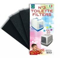 Georplast Kapalı Tuvalet Koku Filtresi 9 X 18 X 2 H Cm