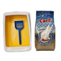 Çarli Tuvalet Seti (7 Lt kum + Kürek + Tuvalet kabı)