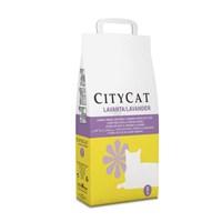 Citycat Lavanta Kokulu Doğal Topaklaşan Kedi Kumu 5 Kg