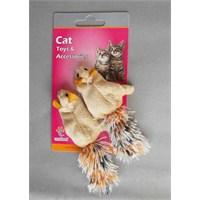 Eastland Catnipli Kedi Oyuncağı Sincap İkili 5 Cm