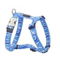 Reddingo Circadelic Desenli Mavi Köpek Göğüs Tasması 12 Mm