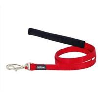 Reddingo Klasik Kırmızı Uzatma Köpek Tasması 20 Mm