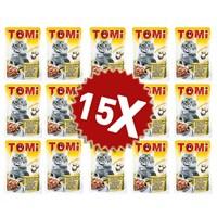 Tomi Tavşanlı Ve Kanatlı Yetişkin Kedi Konservesi Pouch 15 Adet 15 X 100 Gr