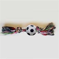 Percell Diş İpli Futbol Köpek Oyuncağı