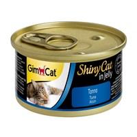 Gimcat Yeni Shinycat Öğünlük Konserve Kedi Maması-Ton balıklı 70gr
