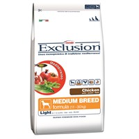 Exclusion Mediterraneo Tavuk Etli Light Orta Irk Köpek Maması 12,5 Kg