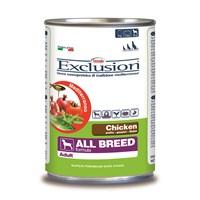 Exclusion Mediterraneo Tavuk Etli Yetişkin Köpek Konserve Maması 400 Gr