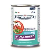 Exclusion Mediterraneo Balık Etli Yetişkin Köpek Konserve Maması 400 Gr