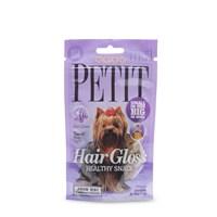 Petit Healthy Snack Küçük Irkların Sağlıklı Tüyleri İçin Fonksiyonel Köpek Ödülü 50 Gr