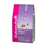 Eukanuba Orta Irk Yavru Köpek Maması - 3 Kg
