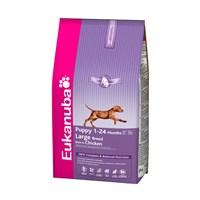 Eukanuba Büyük Irk Yavru Köpek Maması - 3Kg