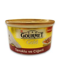 Gourmet Gold Tavuklu Ciğerli Kedi Konservesi 85 Gr - 6 Adet