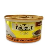 Gourmet Gold Esmer Sos Eşliğinde Hindili Ve Ördekli Kedi Konservesi 85 Gr - 6 Adet