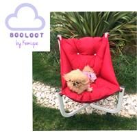 Kemique Köpek Koltuğu - Booloot By Kemique - Kırmızı