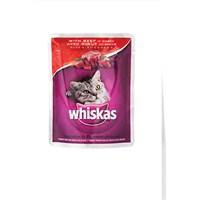 Whiskas Pouch Biftekli 85 Gr * 24'lü