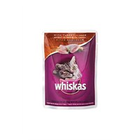 Whiskas Pouch Hindi Etli 85 Gr * 24'lü