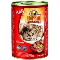 Propesko Sığır Etli Ciğerli Kedi Konservesi 415 Gr