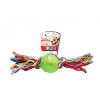 Pawise Tpr Ball - İpli Top Oyuncak 6,3 Cm