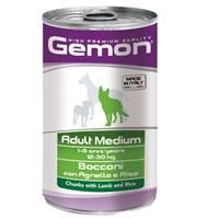 Gemon Yeni Yetişkin Köpek Konservesi Kuzu Pirinç 1250 Gr
