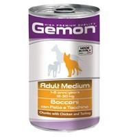 Gemon Yeni Yetişkin Köpek Konservesi Tavuk Hindi 1250 Gr