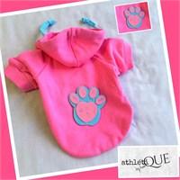 Athletique By Kemique - Pink Paw Köpek Sweatshirt
