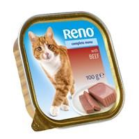 Reno Biftekli Kedi Alüminyum Konservesi 100 Gr