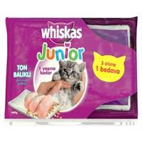 Whiskas Pouch Multipack Yavru Kedi Maması Ton Balıklı 85 Gr * 4lü