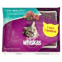 Whiskas Pouch Multipack Ton Balıklı 85 Gr * 4lü