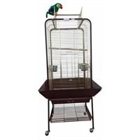 Dayang Papağan Eğitim Kafesi Ayaklı 59X59x152
