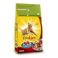 Friskies Etli, Tavuklu ve Sebzeli Yetişkin Kedi Maması 10 kg