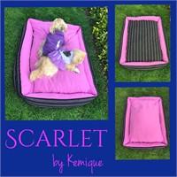 Scarlet Köpek Yatağı Kemique 2X-Large