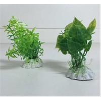 Akvaryum Ve Fanus İçin Küçük Plastik Bitki Pb152